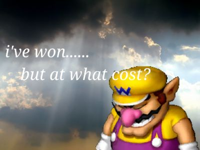 Wario - won, but at what cost